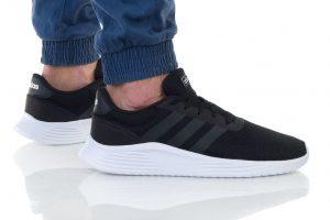 נעליים אדידס לגברים Adidas LITE RACER 2 - שחור/לבן