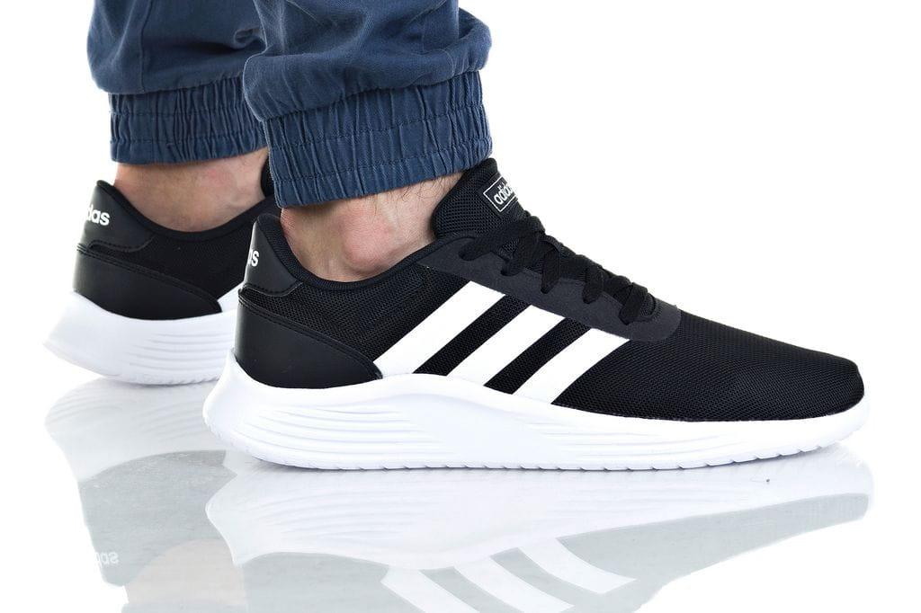 נעליים אדידס לגברים Adidas LITE RACER 2 - לבן/שחור