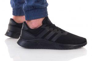 נעלי סניקרס אדידס לגברים Adidas LITE RACER 2 - שחור מלא