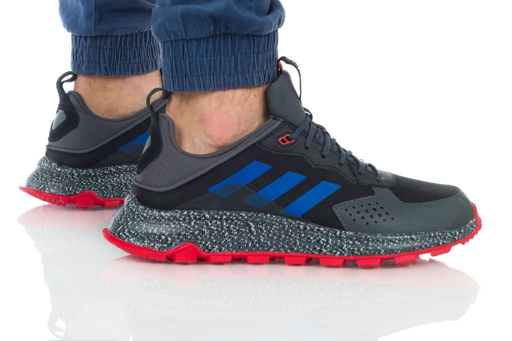 נעליים אדידס לגברים Adidas RESPONSE TRAIL - אפור/אדום