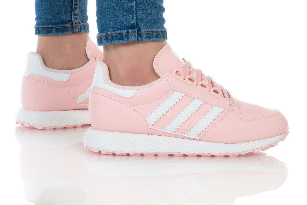 נעליים אדידס לנשים Adidas Forest Grove - לבן/ורוד