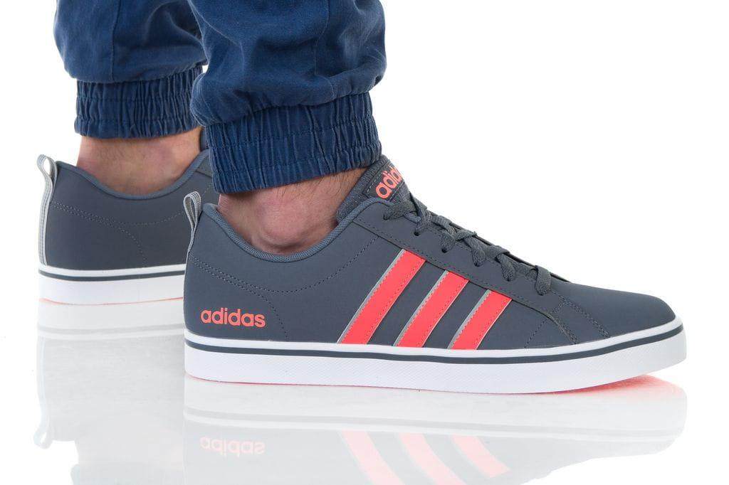 נעליים אדידס לגברים Adidas VS PACE - אפור/כתום