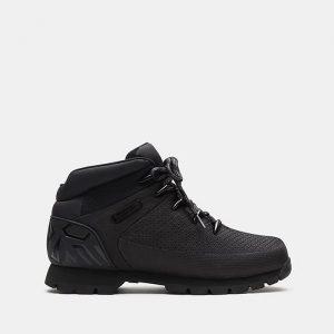 נעליים טימברלנד לגברים Timberland Euro Sprint - שחור מלא