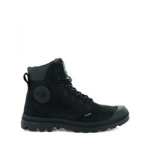 נעליים פלדיום לגברים Palladium Pampa Cuff - שחור מלא