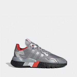 נעליים אדידס לגברים Adidas Nite Jogger - כסףשחור