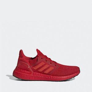 נעליים אדידס לגברים Adidas Ultraboost 20 - אדום