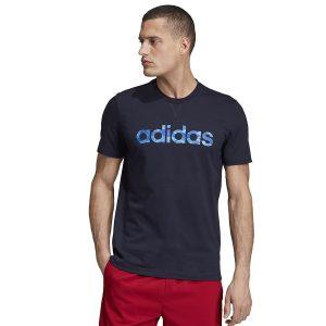 ביגוד אדידס לגברים Adidas E Camo Lin - שחור