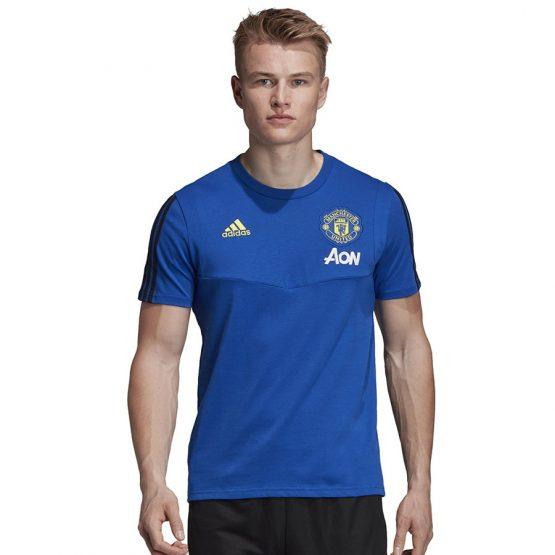ביגוד קבוצות אדידס לגברים Adidas Manchester - כחול