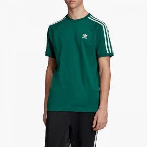 ביגוד Adidas Originals לגברים Adidas Originals 3-Stripes Tee - ירוק