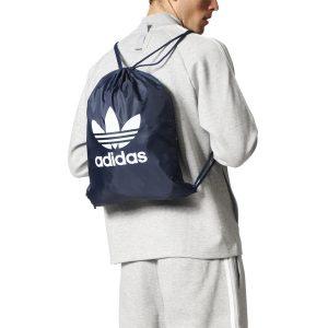 אביזרים Adidas Originals לגברים Adidas Originals Gymsach Trefoil - כחול כהה