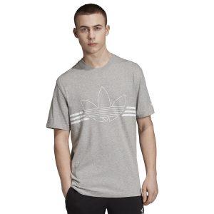ביגוד Adidas Originals לגברים Adidas Originals Outline - אפור בהיר