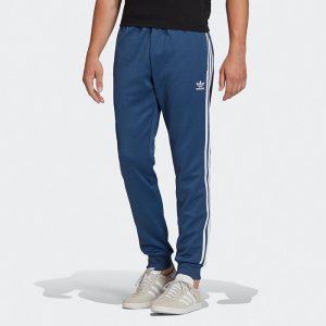 ביגוד Adidas Originals לגברים Adidas Originals SST Track pants - כחול