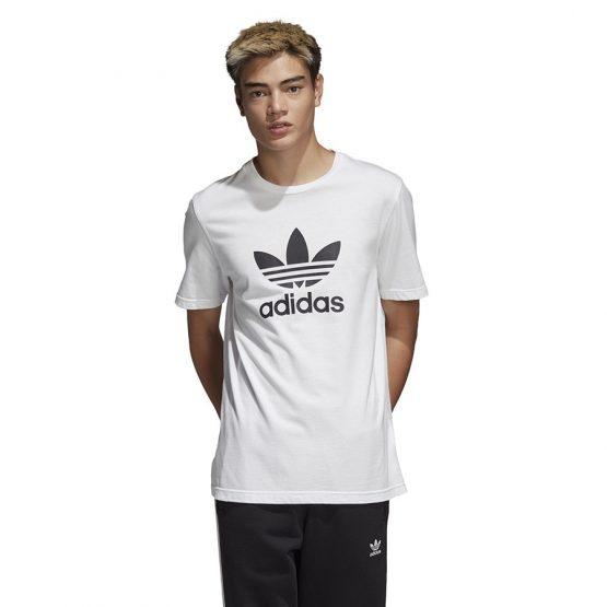 ביגוד Adidas Originals לגברים Adidas Originals Trefoil - לבן