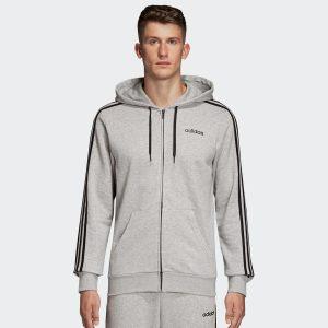 ביגוד אדידס לגברים Adidas S FZ - אפור בהיר