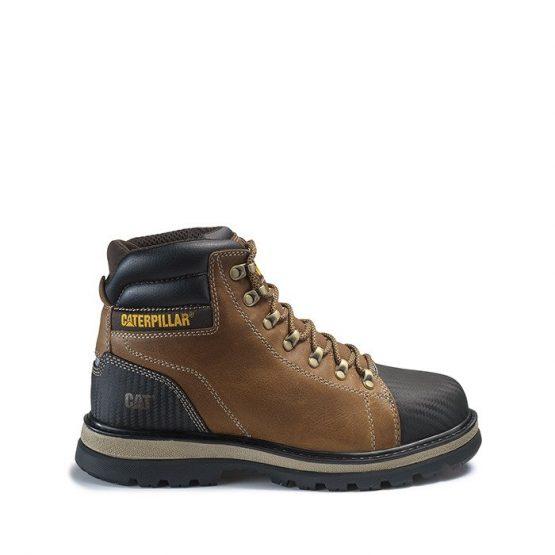 נעליים קטרפילר לגברים Caterpillar Foxfield ST S3 WR - חום