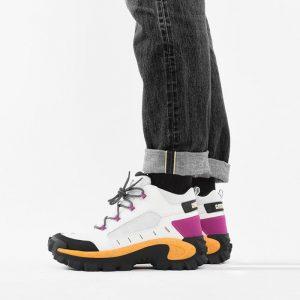 נעליים קטרפילר לגברים Caterpillar Resistor - לבן/צהוב