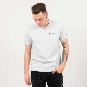 ביגוד צ'מפיון לגברים Champion Crewneck T-shirt - אפור בהיר