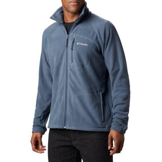ביגוד קולומביה לגברים Columbia Fast Trek II Full Zip Fleece - כחול