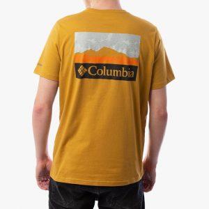 ביגוד קולומביה לגברים Columbia Rapid Ridge Back Graphic - צהוב