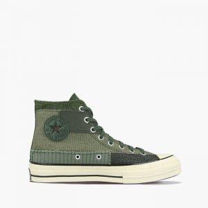 נעליים קונברס לגברים Converse Chuck 70 Mono Patchwork - ירוק