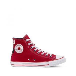 נעליים קונברס לגברים Converse Chuck Taylor All Star Hi Univesity - אדום