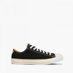 נעליים קונברס לגברים Converse Chuck Taylor All Star OX - שחור/צהוב