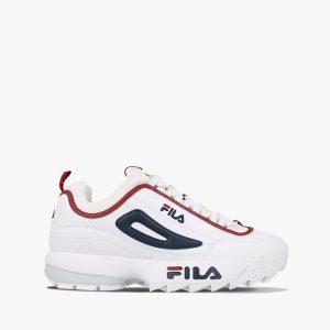 נעליים פילה לגברים Fila Disruptor Low - לבן/ כחול
