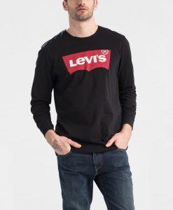ביגוד ליוויס לגברים Levi's Longsleeve Graphic - שחור