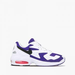 נעלי סניקרס נייק לגברים Nike Air Max2 Light - לבן/סגול