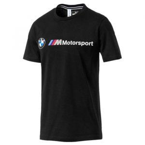 ביגוד פומה לגברים PUMA BMW MMS Logo Tee - שחור