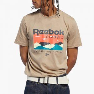ביגוד ריבוק לגברים Reebok Classic F Trail Graphic - בז'