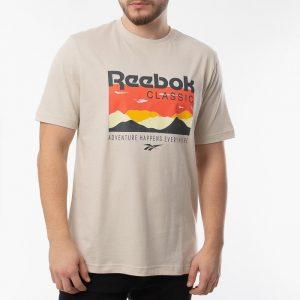 ביגוד ריבוק לגברים Reebok Classic Trail Tee - אפור בהיר