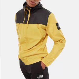 ביגוד דה נורת פיס לגברים The North Face 1990 Seasonal Mountain Jacket - שחור/צהוב