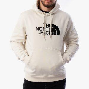 ביגוד דה נורת פיס לגברים The North Face Drew Peak Pullover - לבן