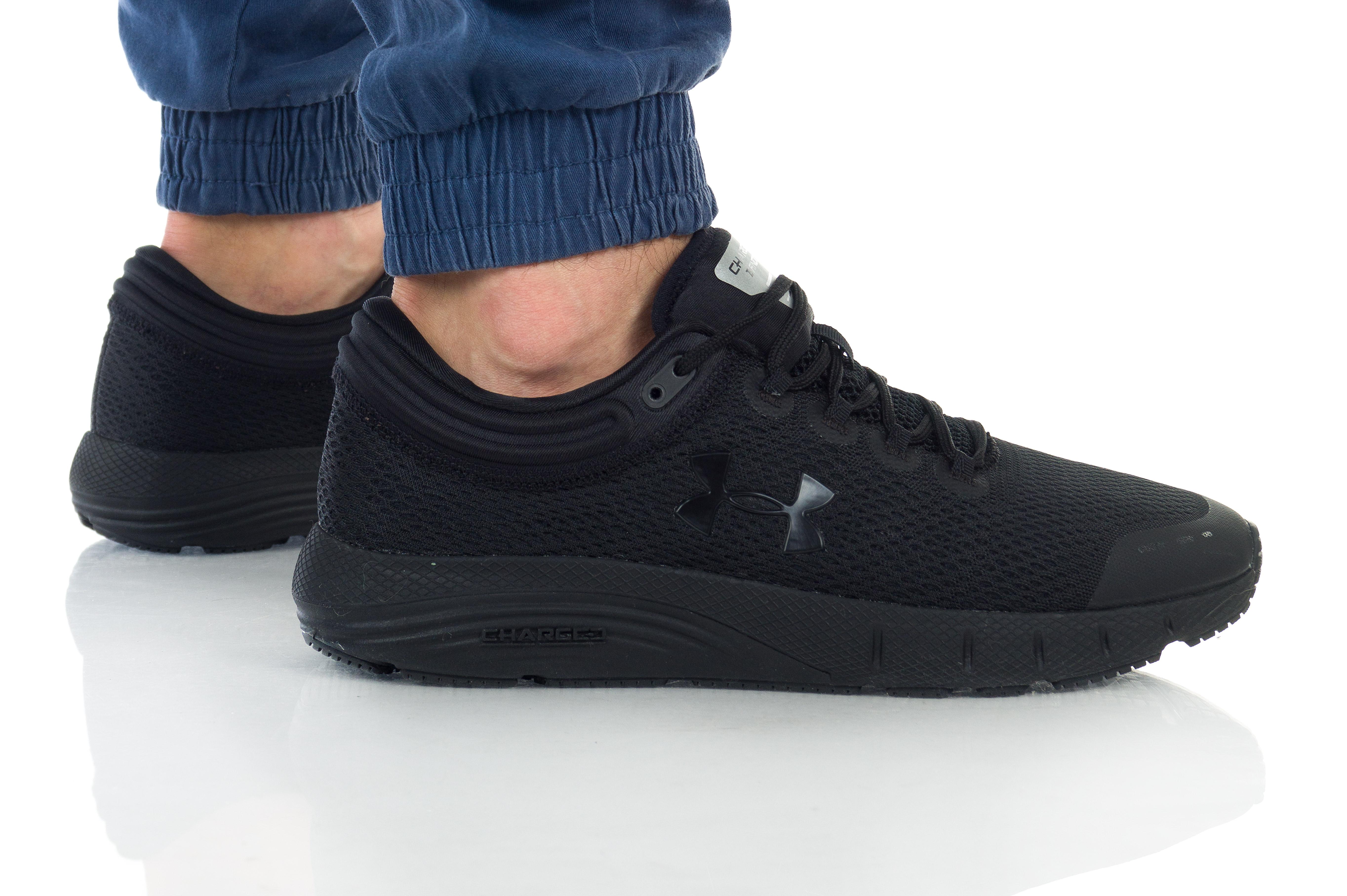 נעליים אנדר ארמור לגברים Under Armour Charged Bandit 5 - שחור