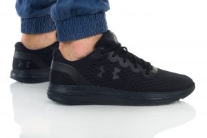 נעלי ריצה אנדר ארמור לגברים Under Armour Charged Impulse - שחור