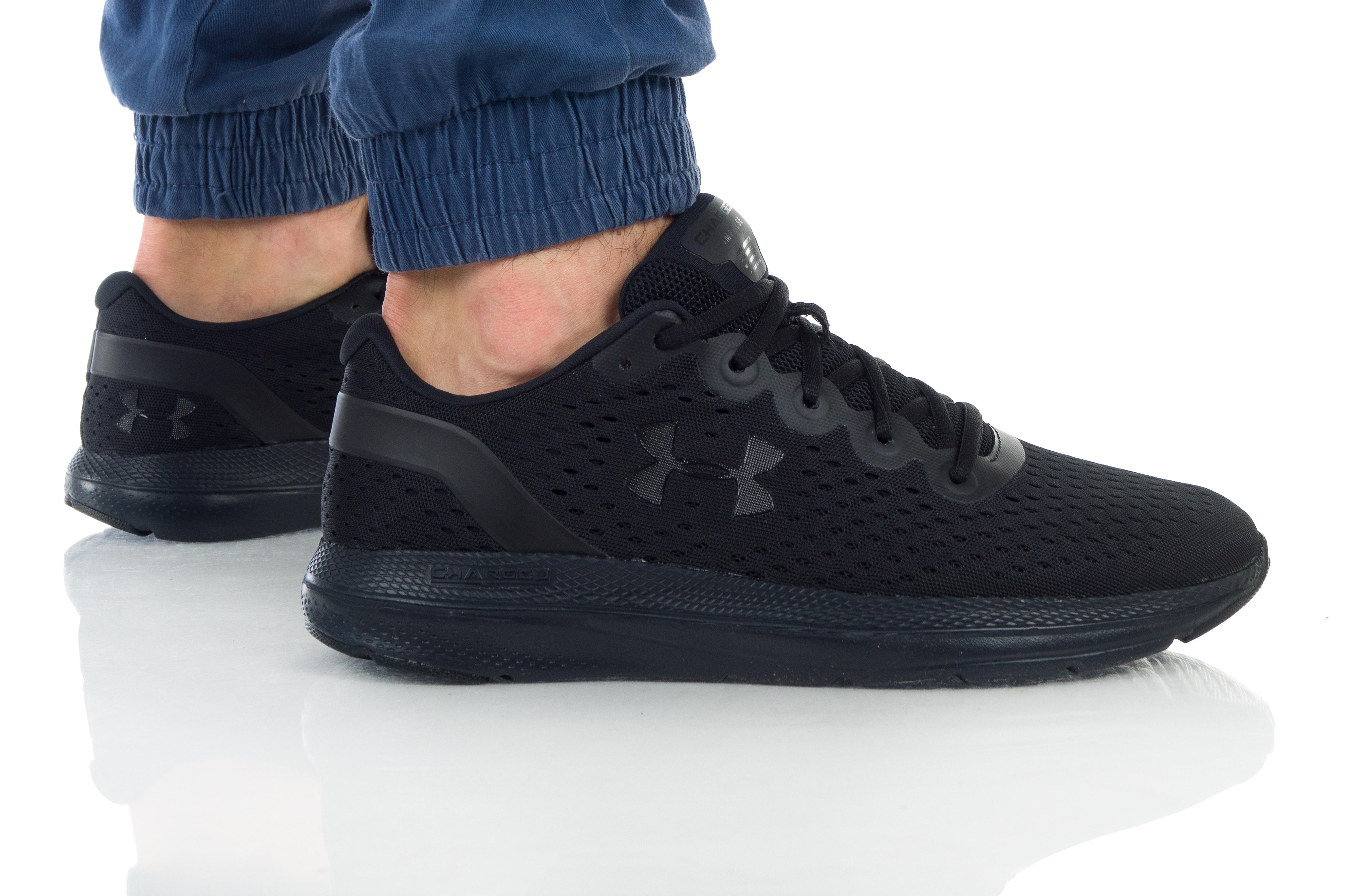 נעליים אנדר ארמור לגברים Under Armour Charged Impulse - שחור