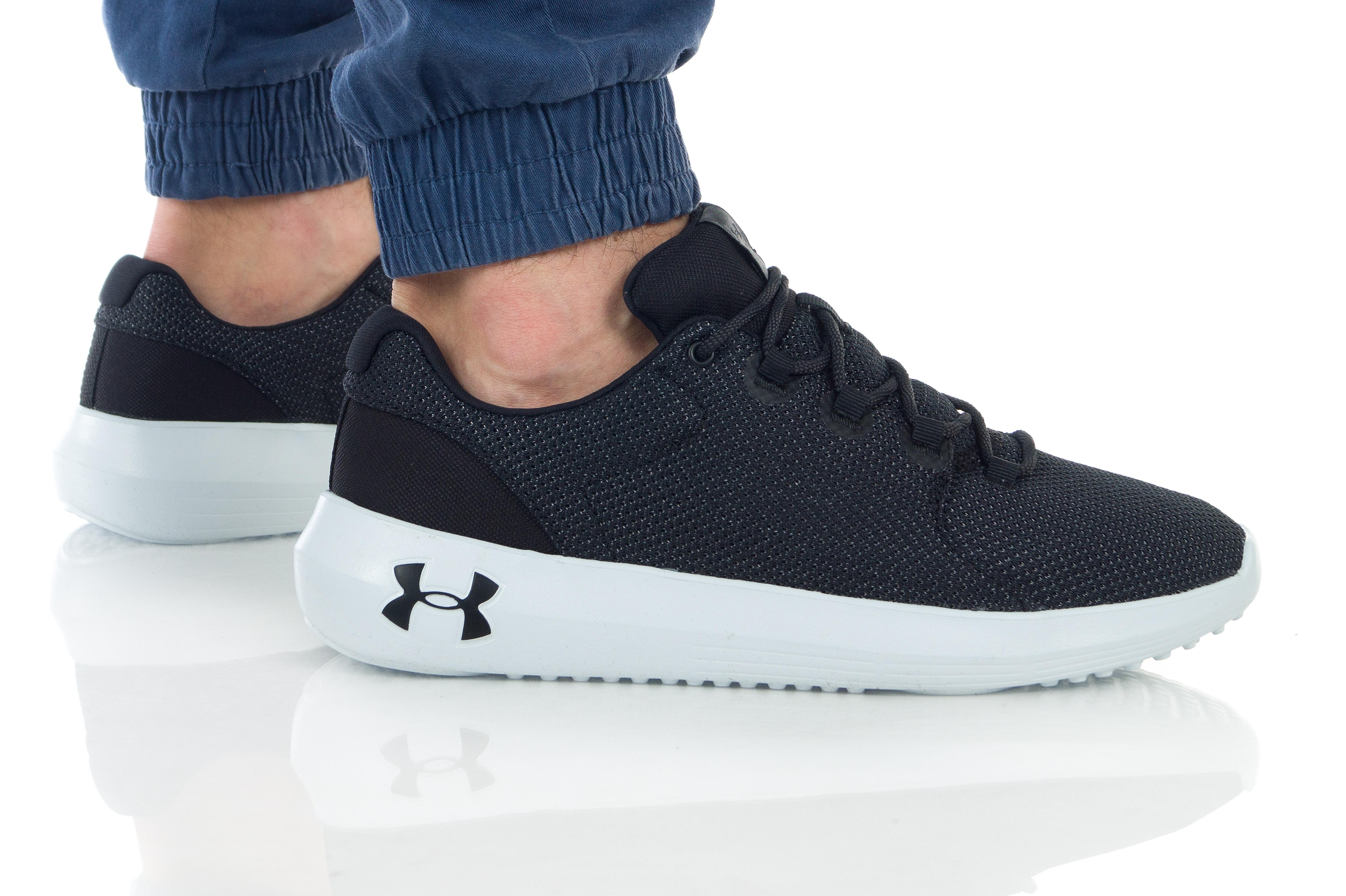 נעליים אנדר ארמור לגברים Under Armour Ripple 2.0 NM1 - שחור