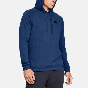 סווטשירט אנדר ארמור לגברים Under Armour Rival Fleece - כחול
