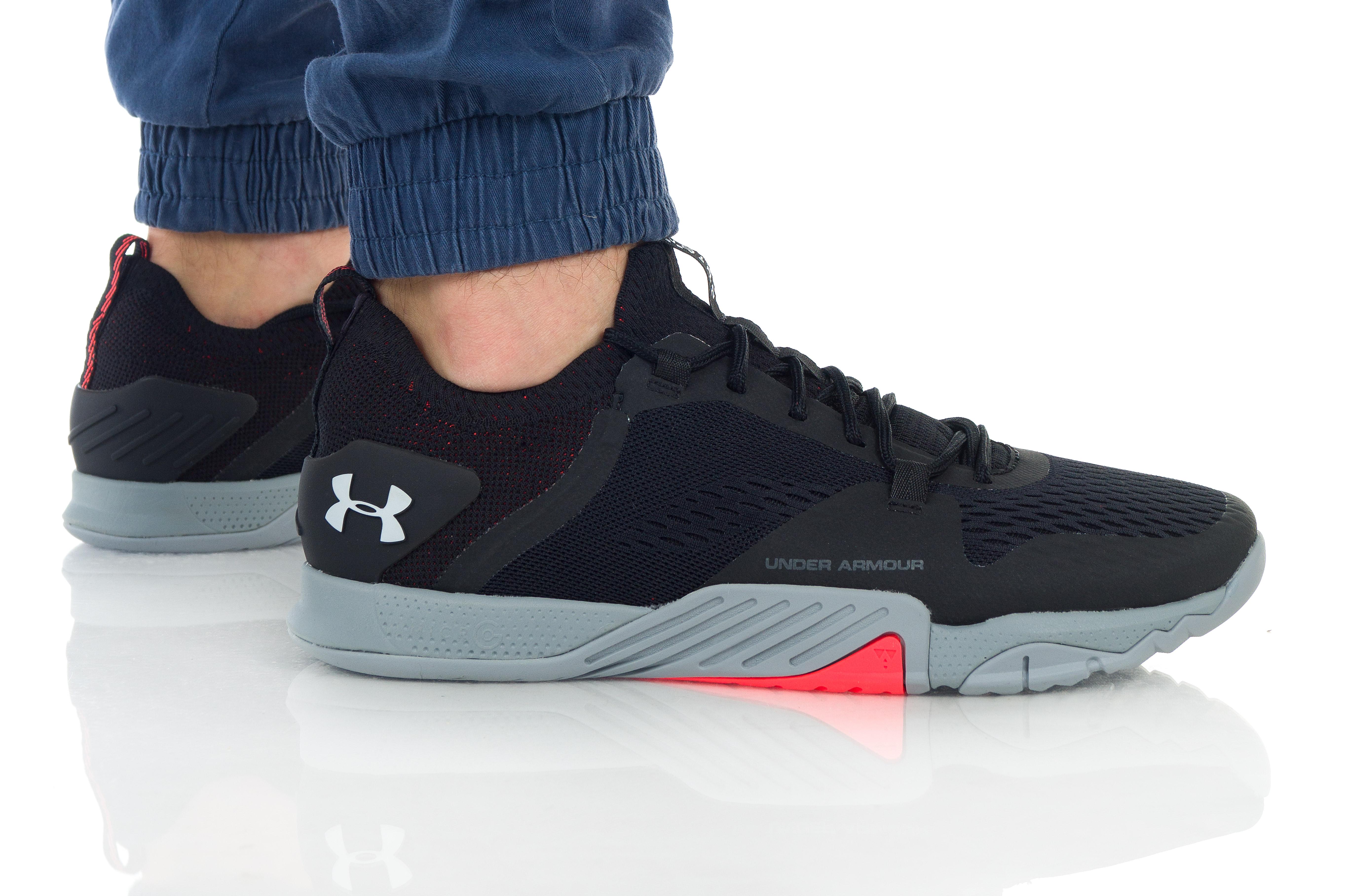 נעלי אימון אנדר ארמור לגברים Under Armour TriBase Reign 2 - שחור