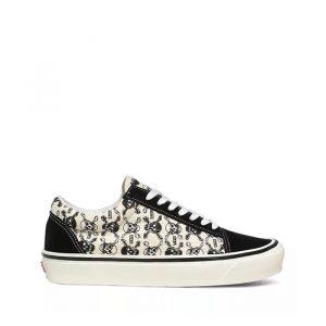נעליים ואנס לגברים Vans Anaheim Factory Old Skool 36 Dx - שחור/לבן