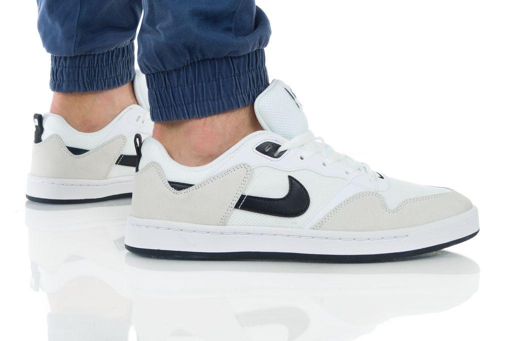 נעליים נייק לגברים Nike SB ALLEYOOP - לבן