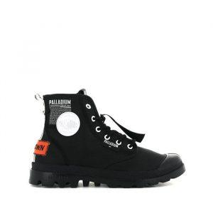 נעליים פלדיום לגברים Palladium Pampa Lite Overlab - שחור