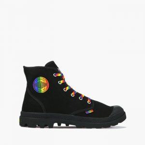 נעליים פלדיום לגברים Palladium Pampa Pride U - שחור