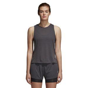 ביגוד אדידס לנשים Adidas Chill Tank - אפור