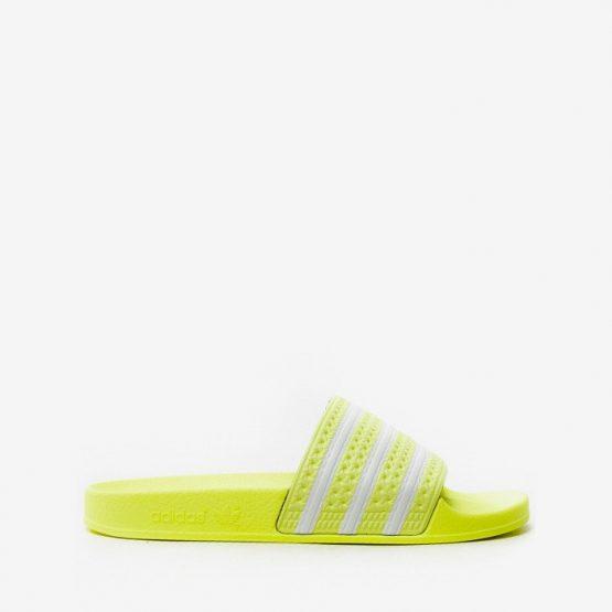 נעליים Adidas Originals לגברים Adidas Originals Adilette - לבן/צהוב