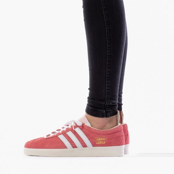 נעלי סניקרס אדידס לנשים Adidas Originals Gazelle Vintage - ורוד