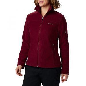 ביגוד קולומביה לנשים Columbia Fast Trek II Jacket - אדום