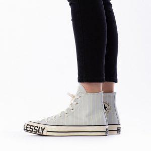 נעלי סניקרס קונברס לנשים Converse Chuck 70 x Love Fearlessly - כחול