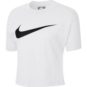 ביגוד נייק לנשים Nike Sportswear Swoosh - לבן